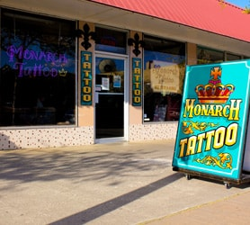 About Monarch Tattoo