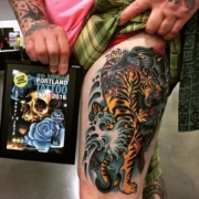 japanese-tiger-panther-leg-piece-lloyd-woodrome-monarch-tattoo